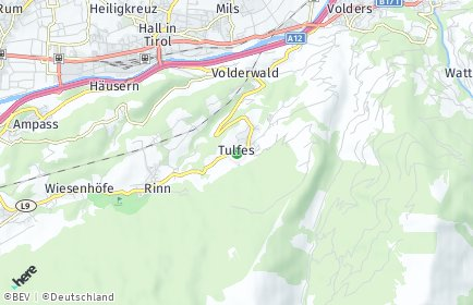 Stadtplan Tulfes