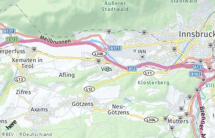 Stadtplan Völs