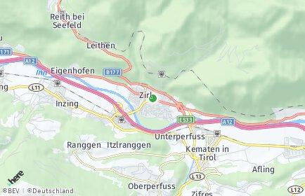 Stadtplan Zirl