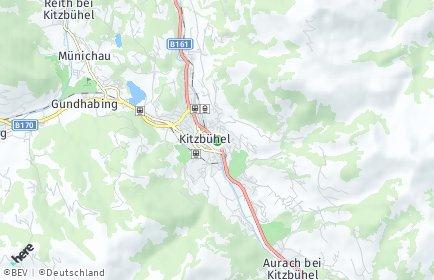 Stadtplan Kitzbühel