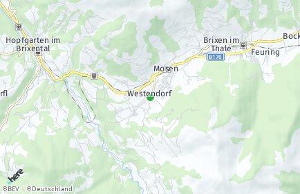 Stadtplan Westendorf