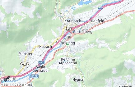 Stadtplan Brixlegg