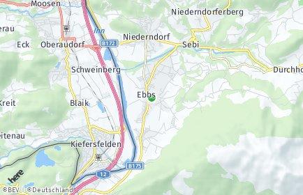 Stadtplan Ebbs