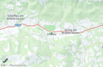 Stadtplan Ellmau