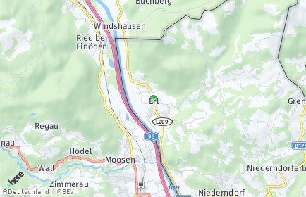 Stadtplan Erl OT Mühlgraben