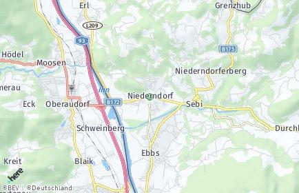 Stadtplan Niederndorf