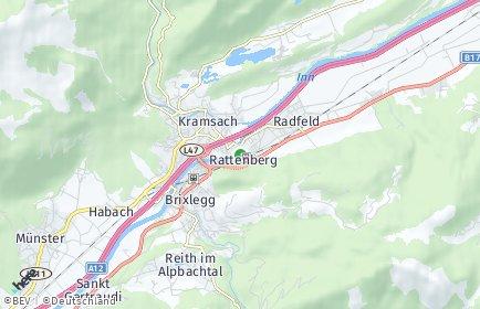 Stadtplan Rattenberg