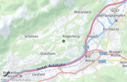Stadtplan Angerberg