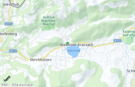 Stadtplan Walchsee