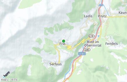 Plz Fiss Tirol Postleitzahlen 6533 Landeck Osterreich