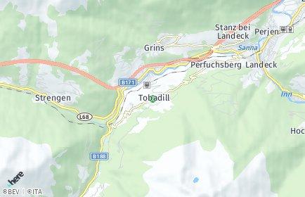 Stadtplan Tobadill