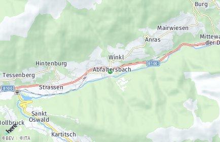 Stadtplan Abfaltersbach