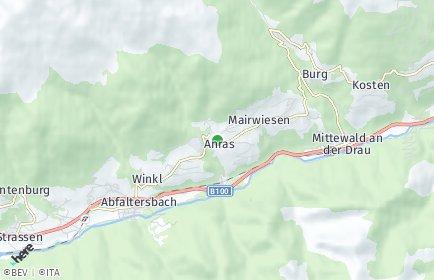 Stadtplan Anras