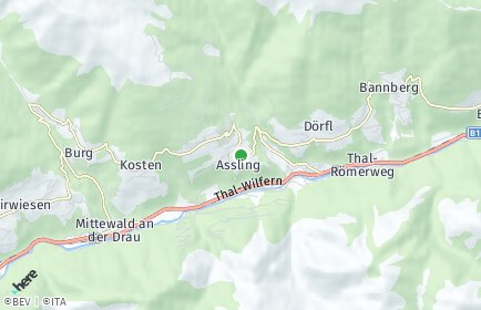 Stadtplan Assling