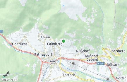 Stadtplan Gaimberg