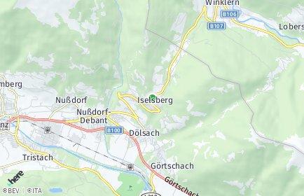 Stadtplan Iselsberg-Stronach
