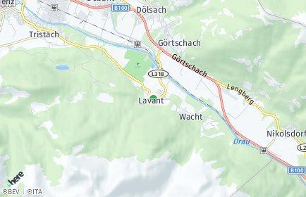 Stadtplan Lavant