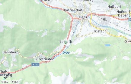 Stadtplan Leisach