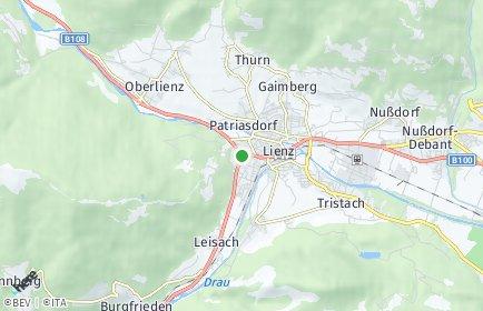 Stadtplan Lienz OT Patriasdorf