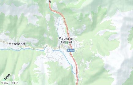 Stadtplan Matrei in Osttirol