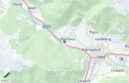 Stadtplan Oberlienz