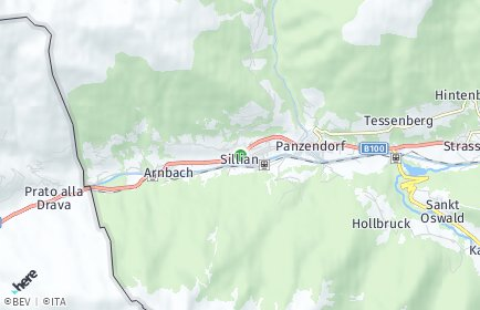Stadtplan Sillian