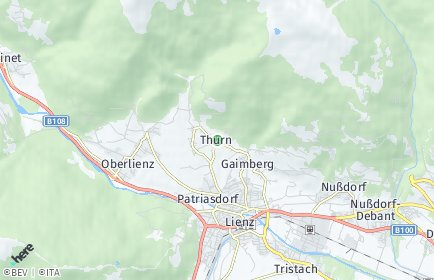 Stadtplan Thurn