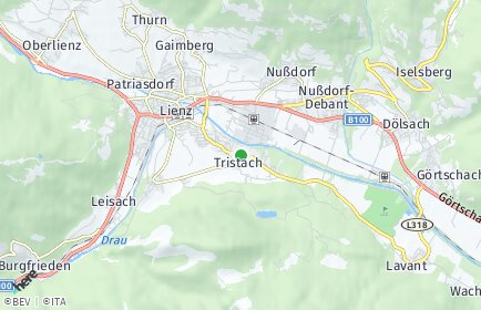 Stadtplan Tristach