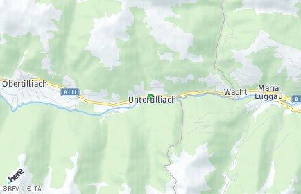 Stadtplan Untertilliach