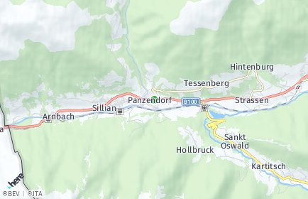 Stadtplan Heinfels