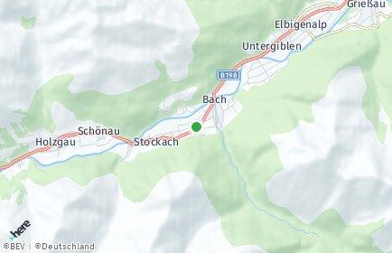 Stadtplan Bach