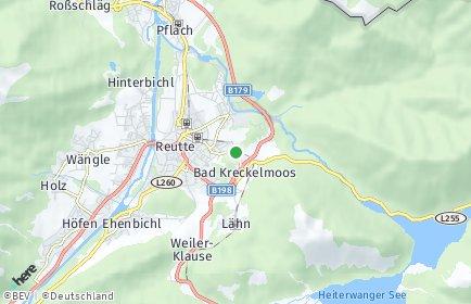 Stadtplan Breitenwang