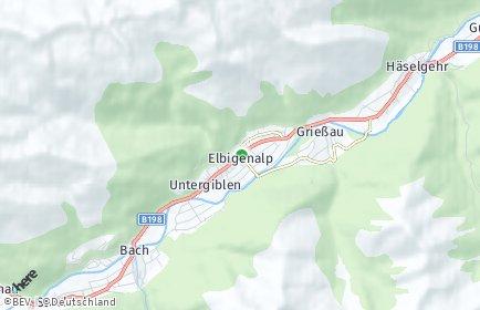 Stadtplan Elbigenalp