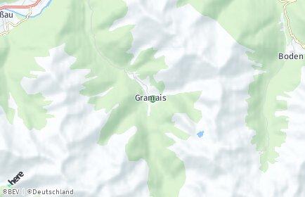 Stadtplan Gramais