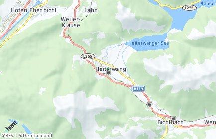 Stadtplan Heiterwang