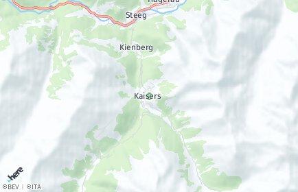 Stadtplan Kaisers