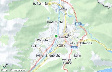 Stadtplan Lechaschau