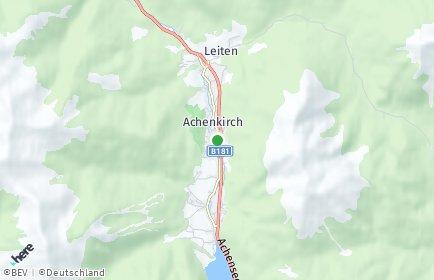 Stadtplan Achenkirch