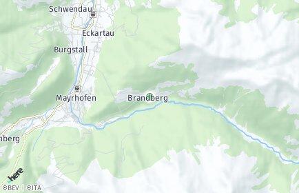 Stadtplan Brandberg