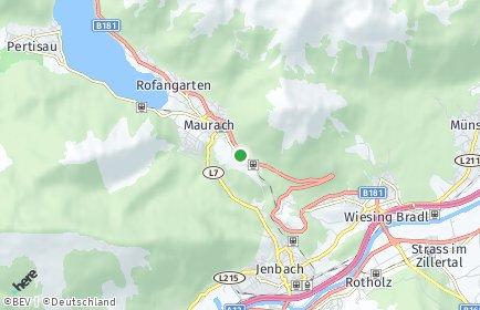 Stadtplan Eben am Achensee