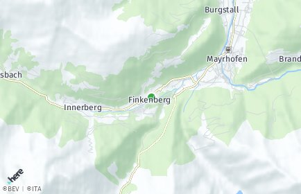 Stadtplan Finkenberg