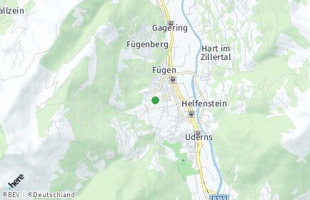 Stadtplan Fügenberg