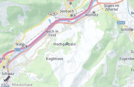 Stadtplan Gallzein