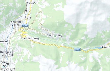 Stadtplan Gerlosberg