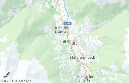 Stadtplan Kaltenbach