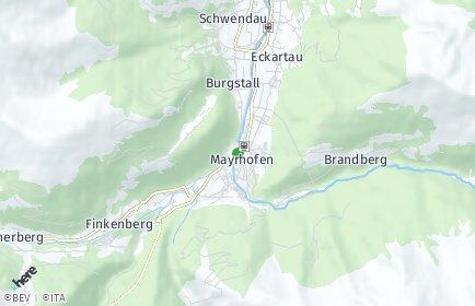 Stadtplan Mayrhofen