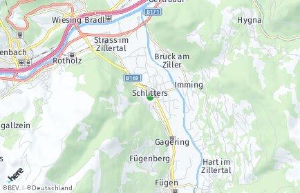 Stadtplan Schlitters
