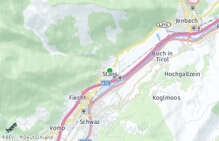 Stadtplan Stans