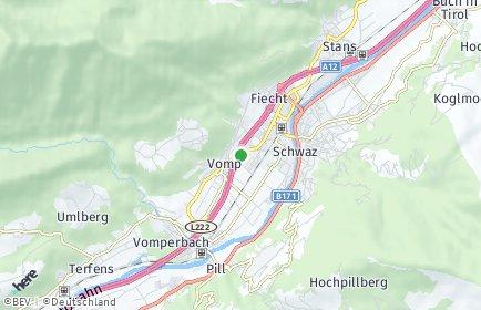 Stadtplan Vomp