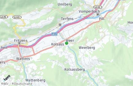Stadtplan Weer